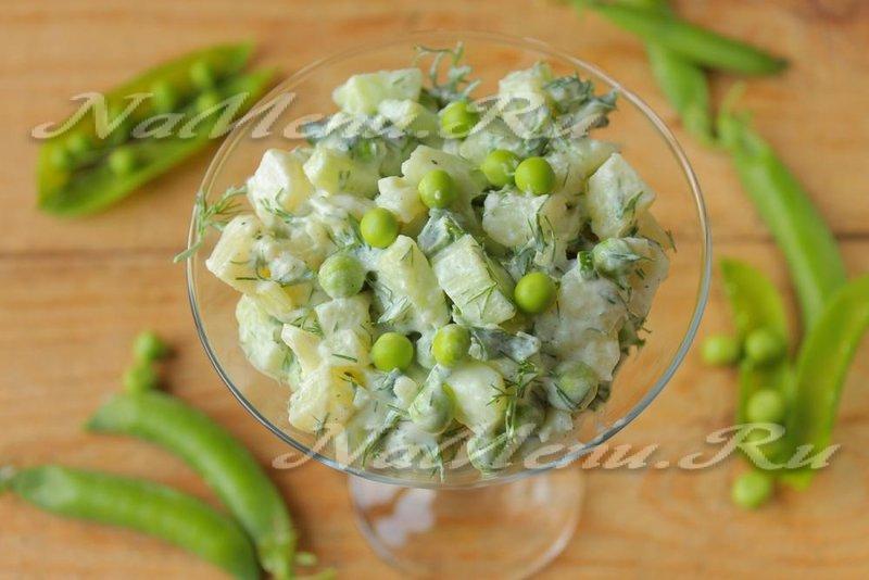 Овощные салаты рецепты с фото диетические