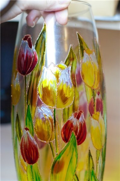 Роспись вазы