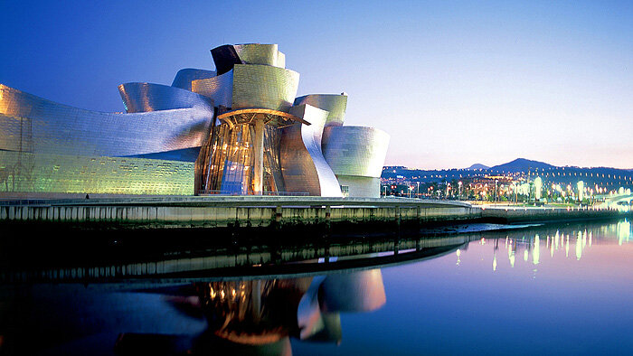Музей Гуггенхайма (Бильбао, Испания)