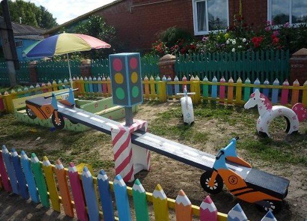 Участок детского сада своими руками: фото и идеи оформления 24