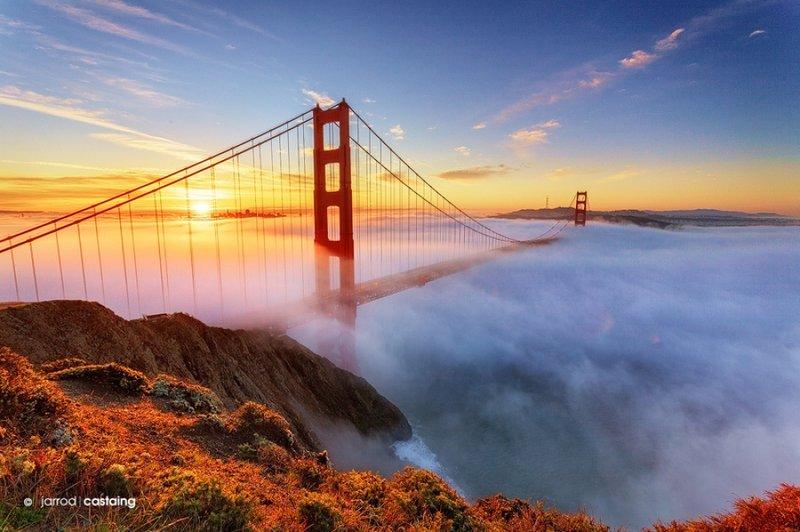 """Мост """"Золотые ворота"""", Сан-Франциско, Калифорния"""