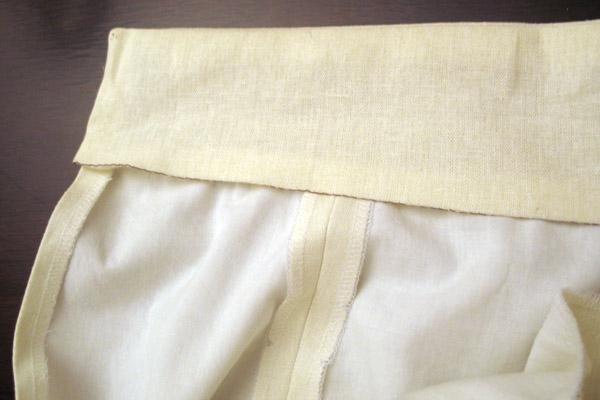 Как пришить пояс для юбки карандаш