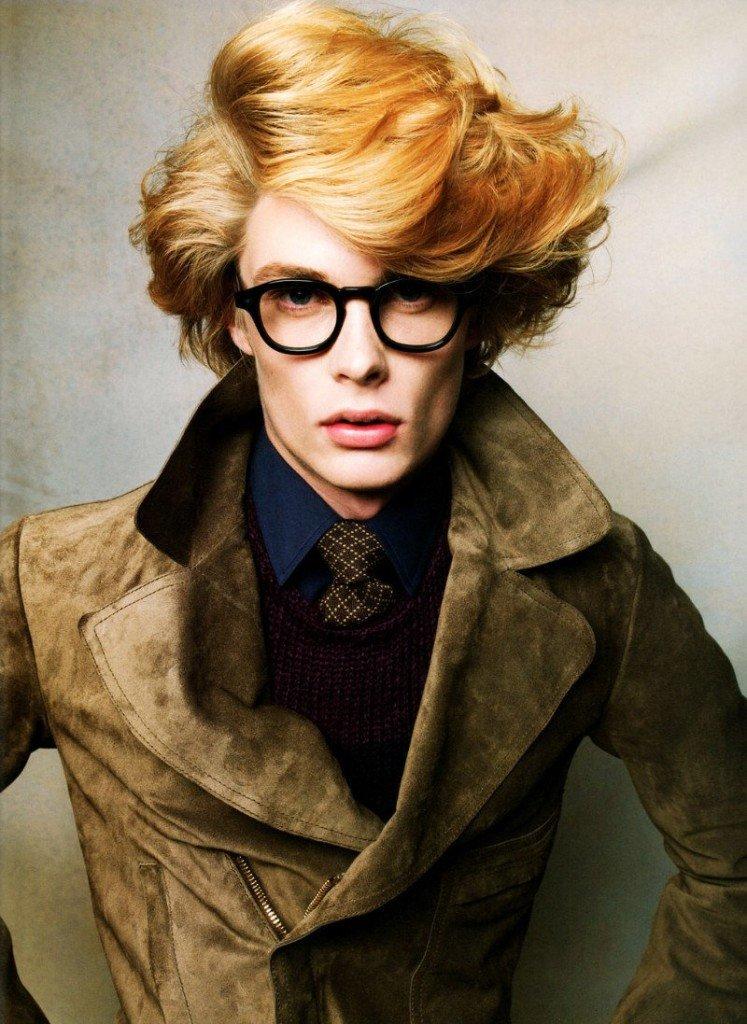 Прически для парня с рыжими волосами