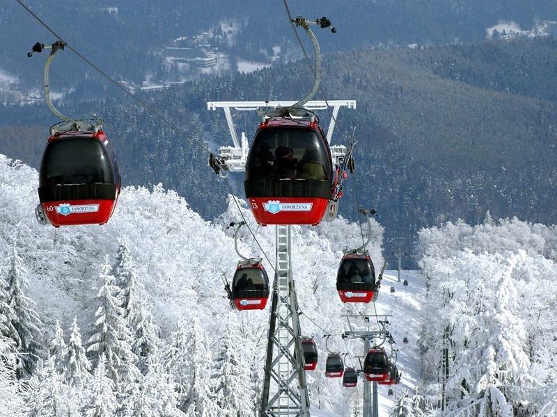 Недалеко от Чехии и Словакии, на юге Польши расположился курорт Висла. Это настоящий рай для любителей активного отдыха: кроме многокилометровых горнолыжных трасс, здесь прекрасные маршруты для беговых лыж. Всего на курорте 25 км трасс разного уровня сложности. На территории всех зон катания действует единый ски-пасс, а передвигаться можно скибусом, стоимость которого уже включена в ски-пасс.