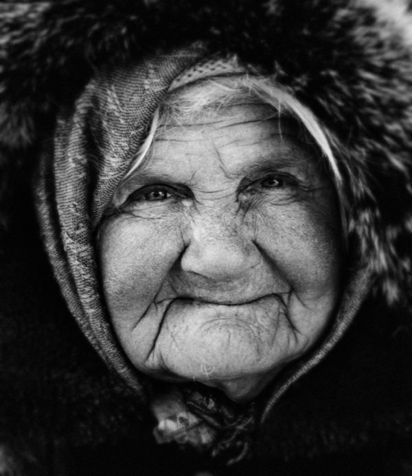 Фото старых старушек 11