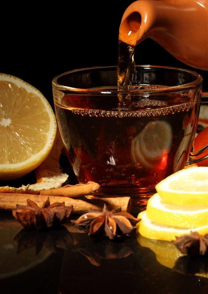 Картинки доброе утро с чаем и лимоном