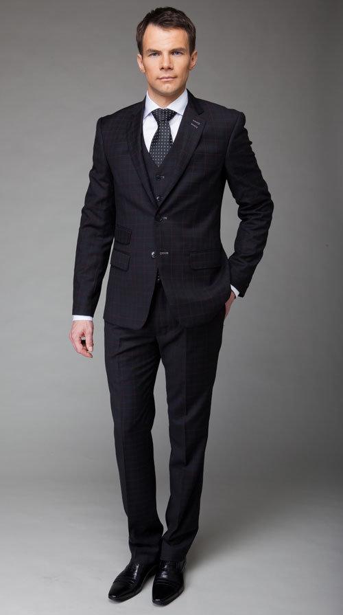 костюм мужской деловой фото