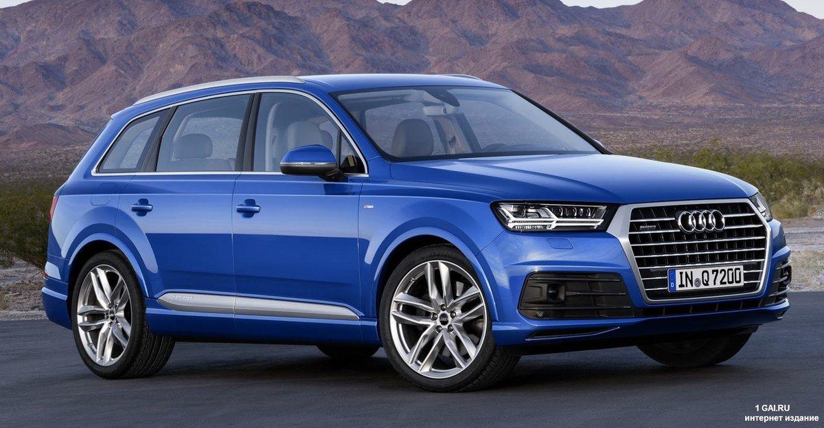 «Сравнение новых кроссоверов 2016 Audi Q7 и 2015 Volvo ...