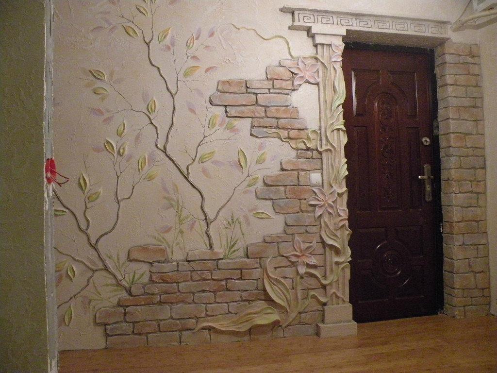 """Лепнина на стенах в квартире"""" - карточка пользователя galina."""
