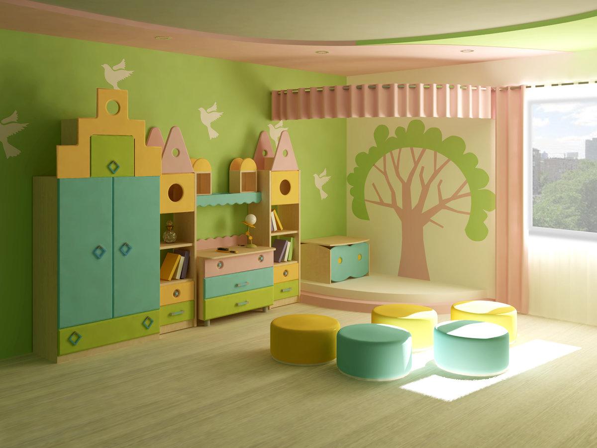 Картинки оформления детских комнат