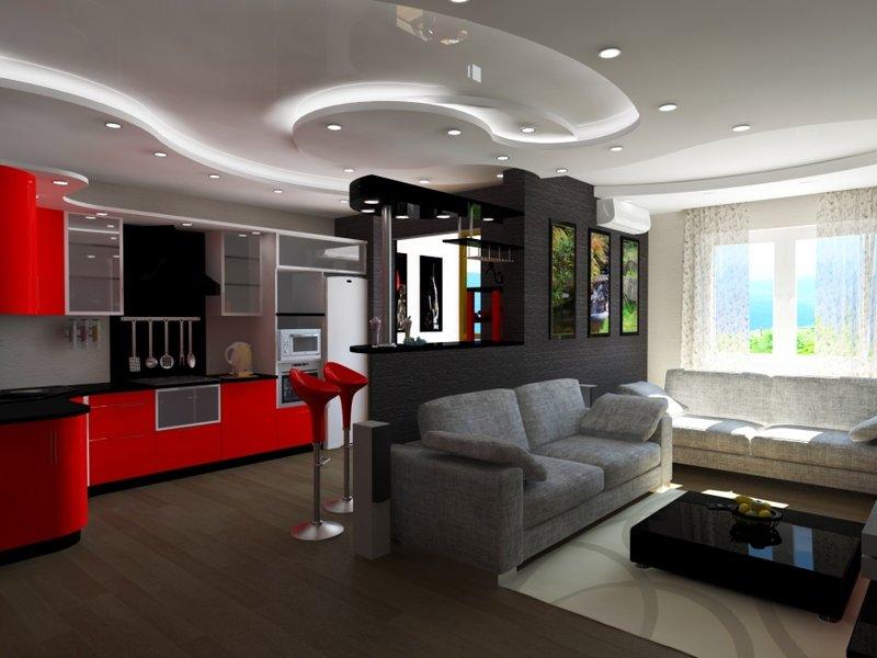 Дизайн квартиры-студии 30 кв. м