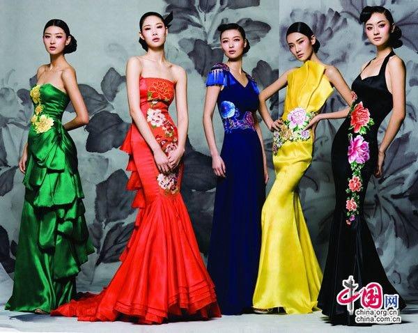 Под платьем у китаек
