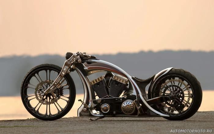 70 - Тюнинг мотоциклов (80 фото) - Фото, картинки, обои - Тюнинг мотоциклов и автомобилей