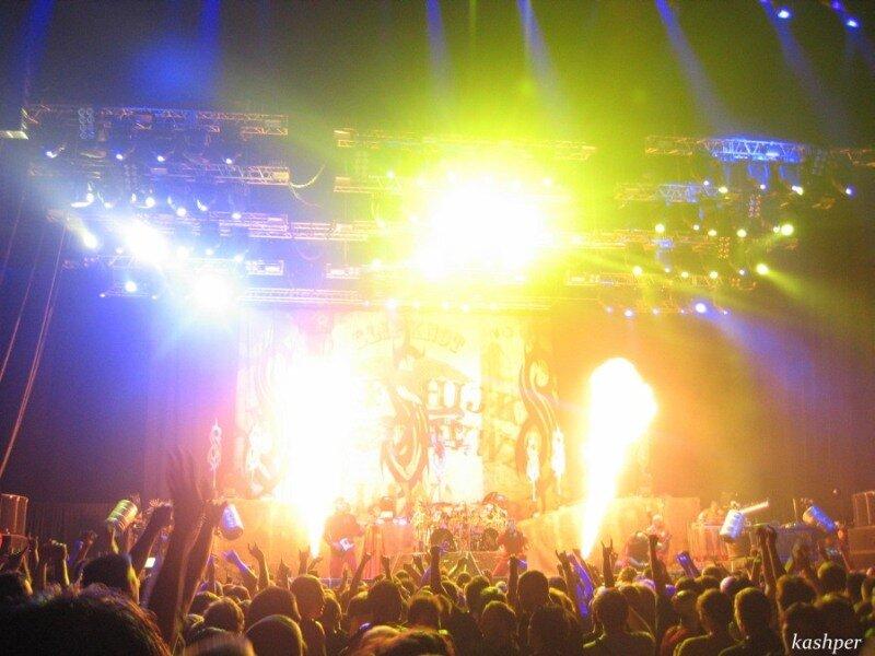 Altwall: Фото-отчет с концерта Slipknot в Санкт-Петербурге