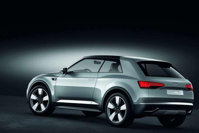 Audi Crosslane Coupe Concept - концепция КроссЛайн от Ауди - Блог Авто любителей, фото, цены, характеристики, технические данные, обзоры и авто новости.