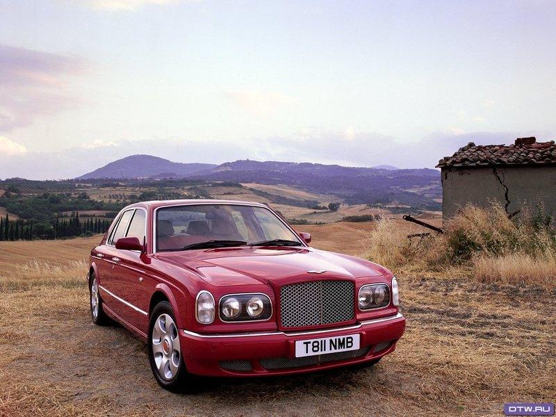Bentley  Arnage Red Label - Обои для рабочего стола - 1024x768 - Аниме Зал