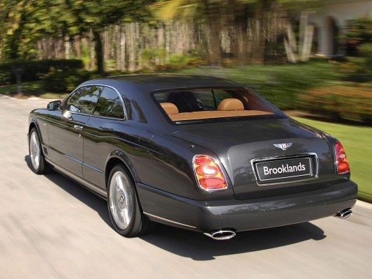 Бентли Брукландс Купе  (II поколение), 2007 - 2009 - технические характеристики: КПП, двигатель Bentley Brooklands coupe  (II поколение), 2007 - 2009, характеристики безопасности, мощность, расход топлива Бентли Брукландс Купе  (II поколение), 2007 - 2009