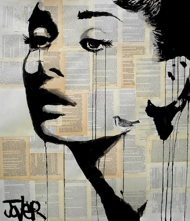 Чернила вместо красок- удивительные работы австралийского иллюстратора Loui Jover