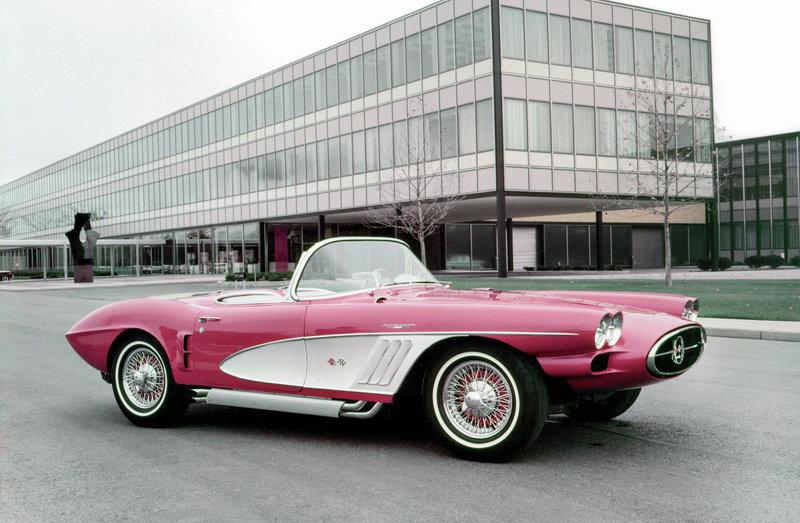 Chevrolet Corvette XP-700 Concept Car '1958