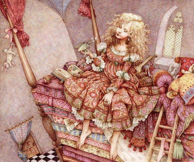 Чудесные иллюстрации художницы Anne Yvonne Gilbert