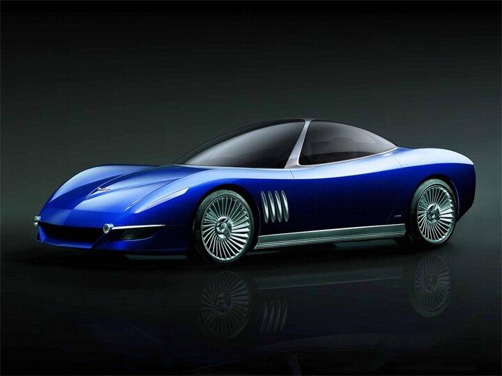 CONCEPT. Chevrolet Corvette Moray (2003)