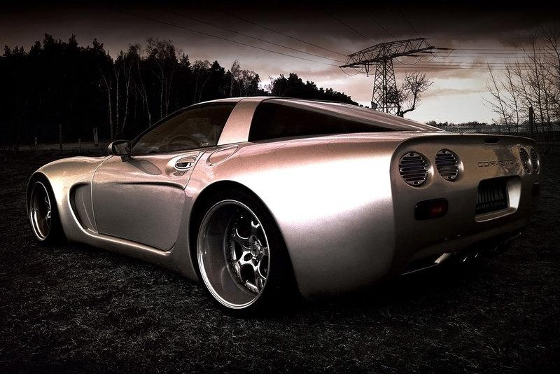 Corvette C5 : тюнинг от Wittera (ФОТО)