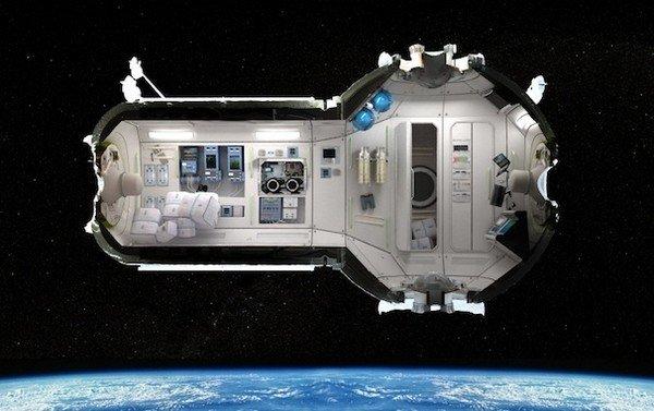 CSS — российский отель для космических туристов