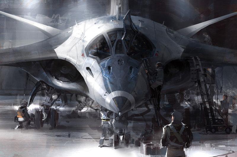 Фантастическое представление об оружии будущего (15 фото)