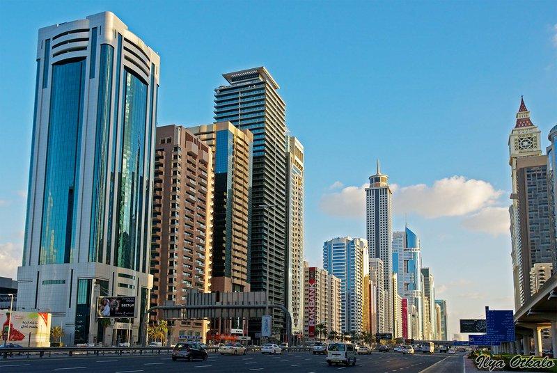 Фото небоскребов Дубая