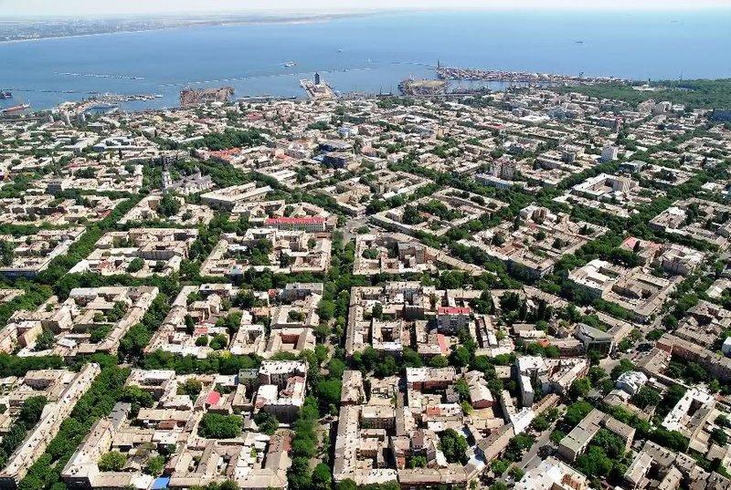 Фото Одессы Одесса с высоты птичьего полета