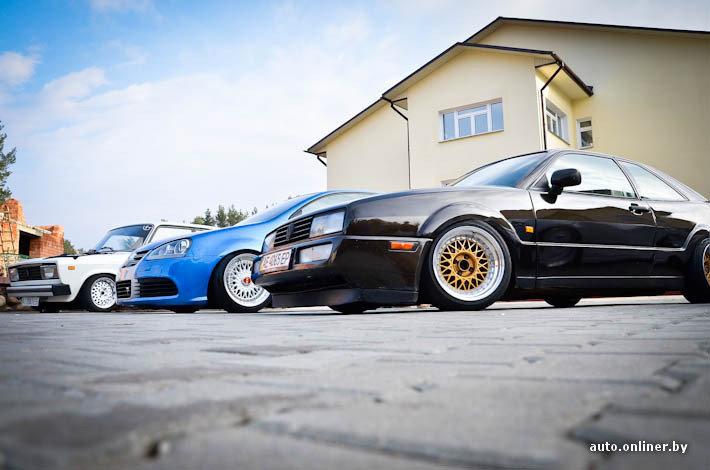 Фоторепортаж: под Минском проходит фестиваль «заниженных» автомобилей - Авто onliner.by