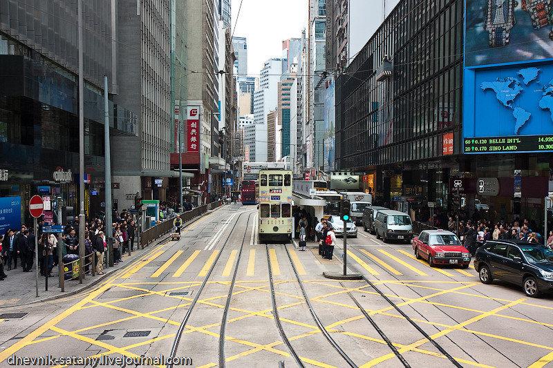 Гонконг: транспортная система