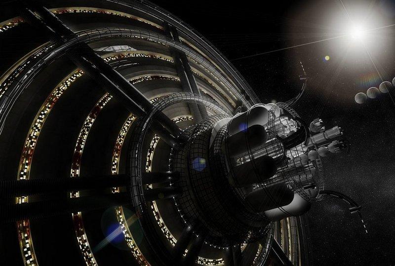 Города будущего в космосе