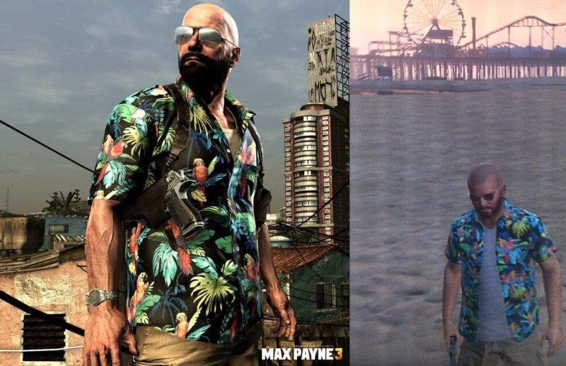 GTA 5 пасхалки - рубашка Макса Пейна