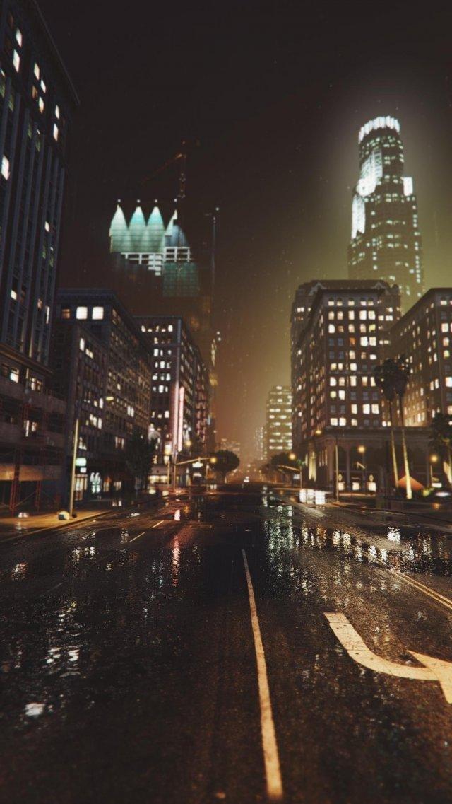 GTA 5: великолепные виды ночного Лос-Сантоса // Новости GTA 5