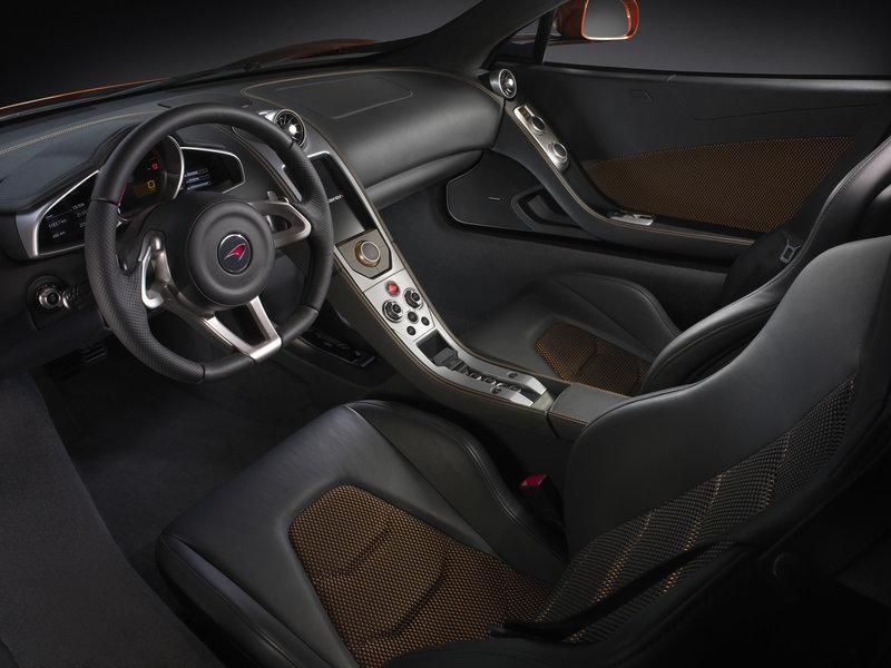Интерьер McLaren MP4-12C - McLaren - Автомобили - Фотоальбомы - Автомобильный сайт