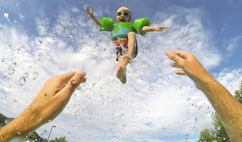 Лучшие фото с GoPro (24 фото) » Just one MIN