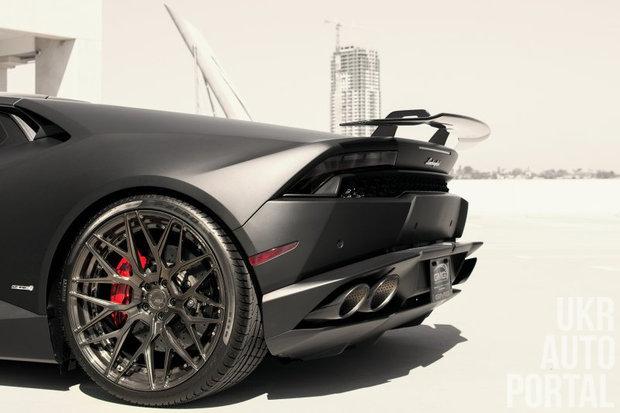 Матовый Lamborghini Huracan от калифорнийских тюнеров
