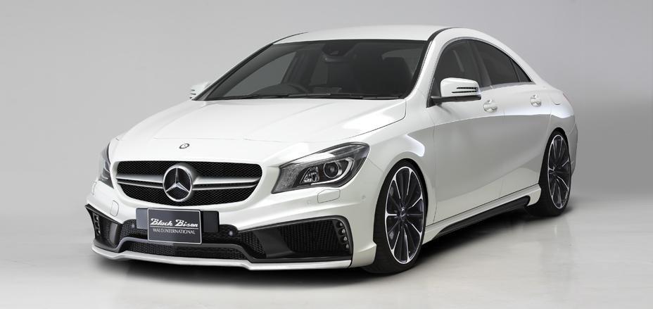 Mercedes-Benz CLA Black Bison