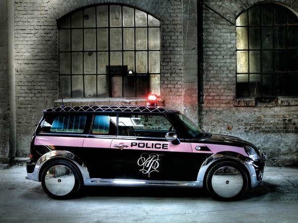 Mini Cooper Clubman by Agent Provocateur