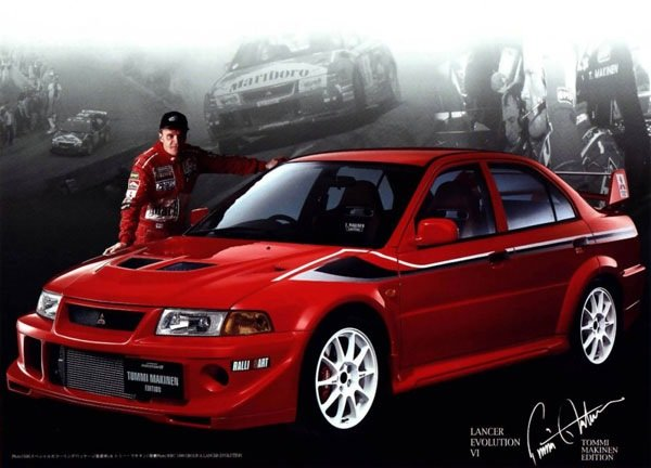 Mitsubishi Evolution VI Tommi Makinen Edition