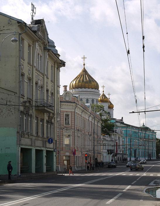 Москва. Волхонка