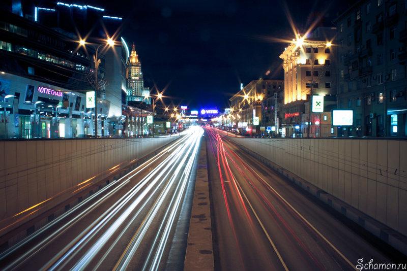 Ночная Москва | Блог Шамана