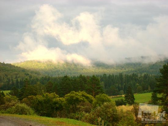 Облака на Алтае