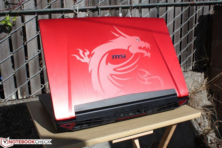 Обзор игрового ноутбука MSI GT72S 6QF Dragon - Notebookcheck-ru.com