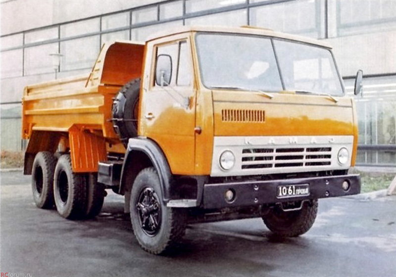 Предсерийный самосвал КамАЗ-5510