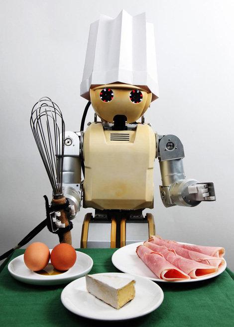 Роботы-помощники в доме будущего