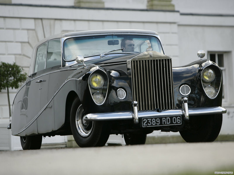 Rolls-Royce Silver Wraith Perspex Top Saloon by Hooper