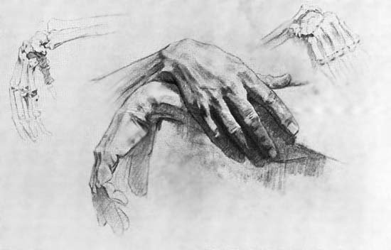 Руки. Академический рисунок