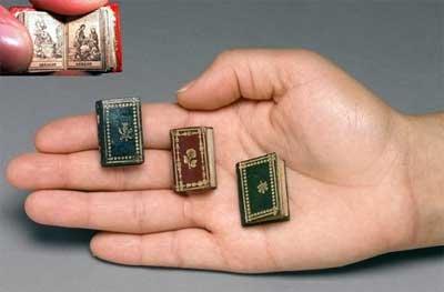 Рукописные миниатюрные книги